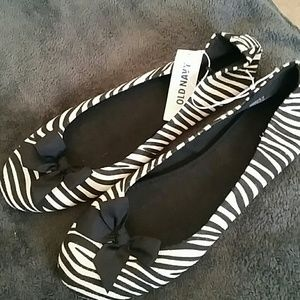 Zebra Striped Flats